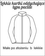 lekkie kurtki oddychające typu paclite